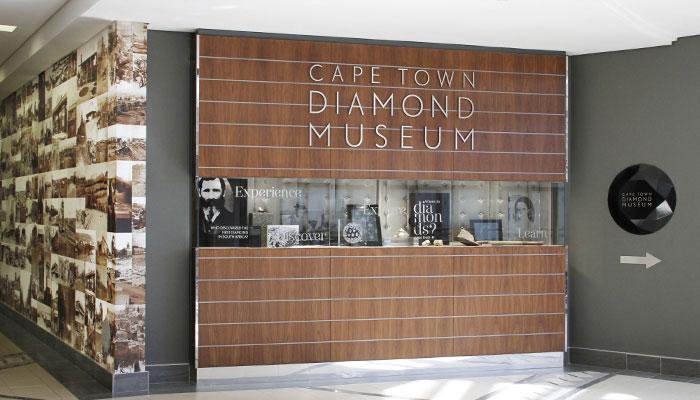 Cape Town Diamond Museum Entrance